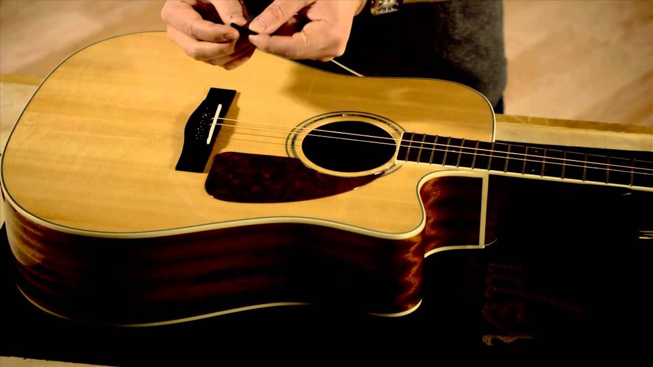 How to Change Your Acoustic Guitar Strings Acoustic