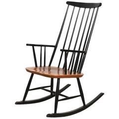 Elegant Modern Scandinavian Rocking Chair