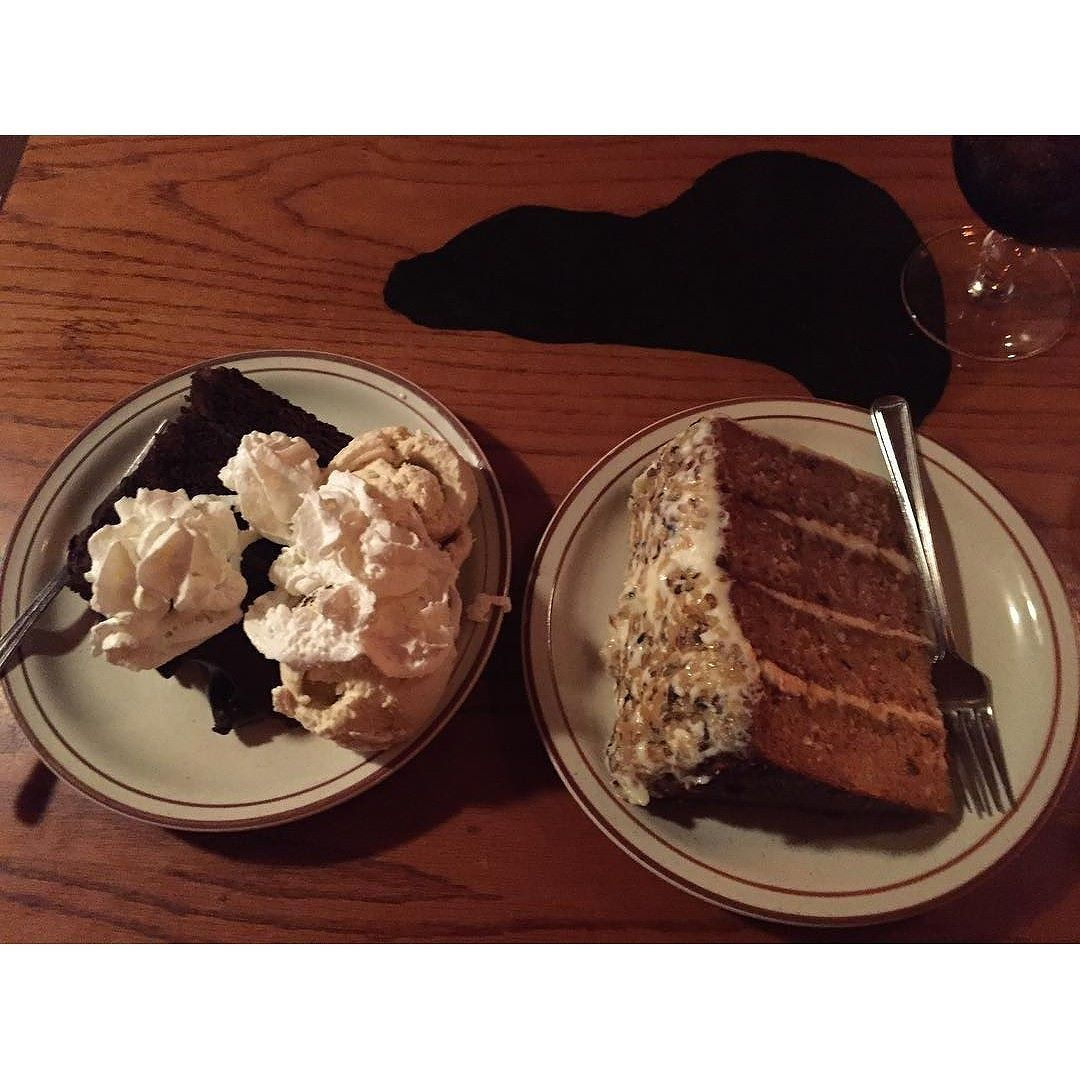 We've got more desserts than you remember!  Make sure to try one of our delicious selections after your next meal! @sbittner319 loves the carrott cake #clearmansrestaurants #cheesebread #wine #northwoodsinn #sangabriel #covina #lamirada #losangeles #steak #dinner #food #foodporn #foodgasm #instafood #yum #yumyum #yummy #delicious #losangeles #familyrestaurant #stuffed #comfortfood #homecooking #classic #traditional