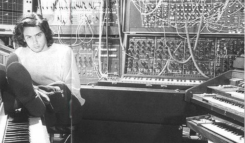 Korg PS-3300 and Jean-Michel Jarre by Mojosynths, via Flickr
