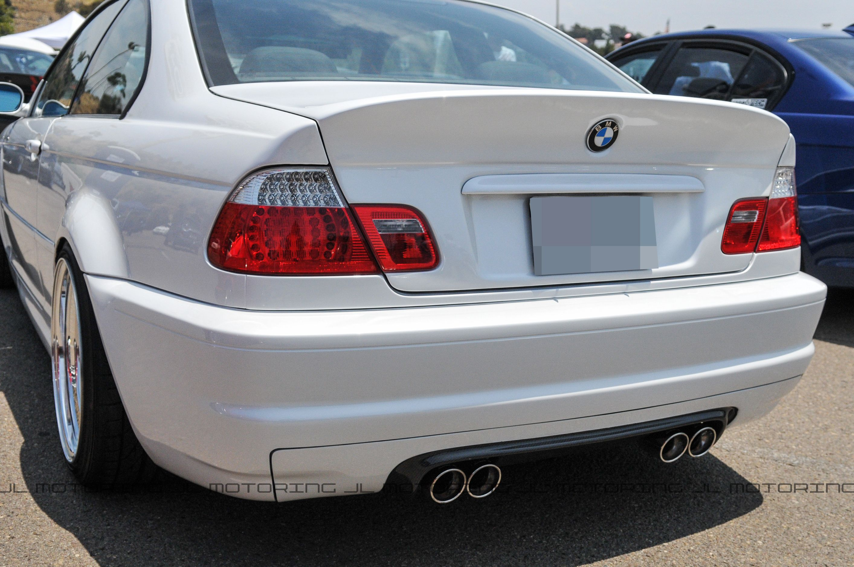 Bmw E46 Coupe M3 Csl Style Carbon Fiber Bootlid Trunk Bmw E46