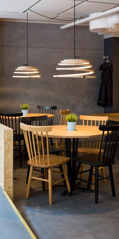 Secto Design - las lámparas de madera de Finlandia #colgante