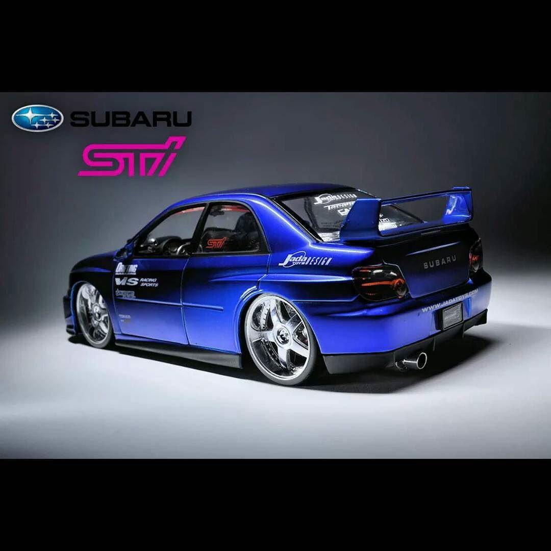 Subaru impreza WRX STI. #diecast #diecastcars #diecastdreams #subaru #impreza #WRX #STI #subaruimpreza #subaruwrxsti #jdm #vis #motoryzacja #jada  #124scale #1_24 #cars #fotografia  #carphotography #jadatoys #modele  #carinstagram #automotive_photography @jadatoys @jadaclub #optiond by modelesamochodow