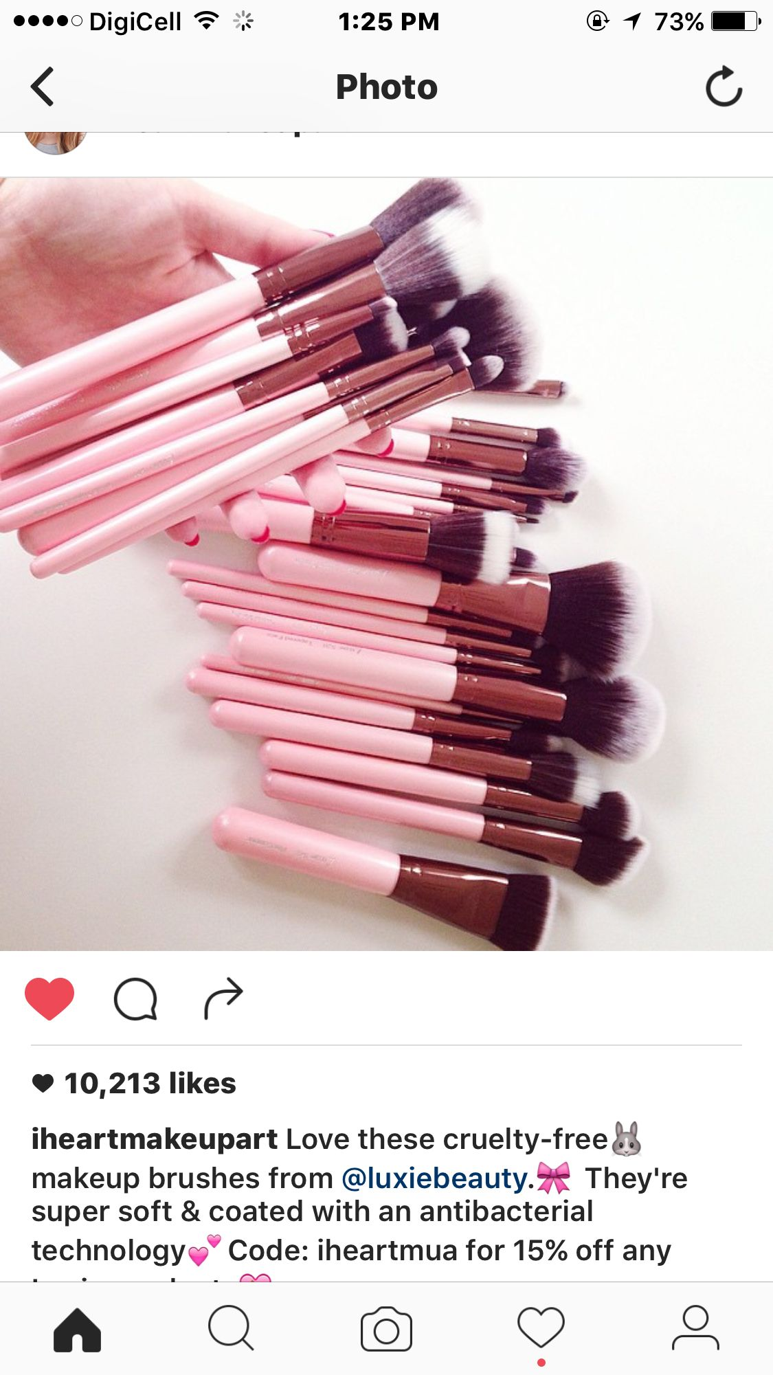 Cruelty free makeup brushes by luxiebeauty Cruelty free