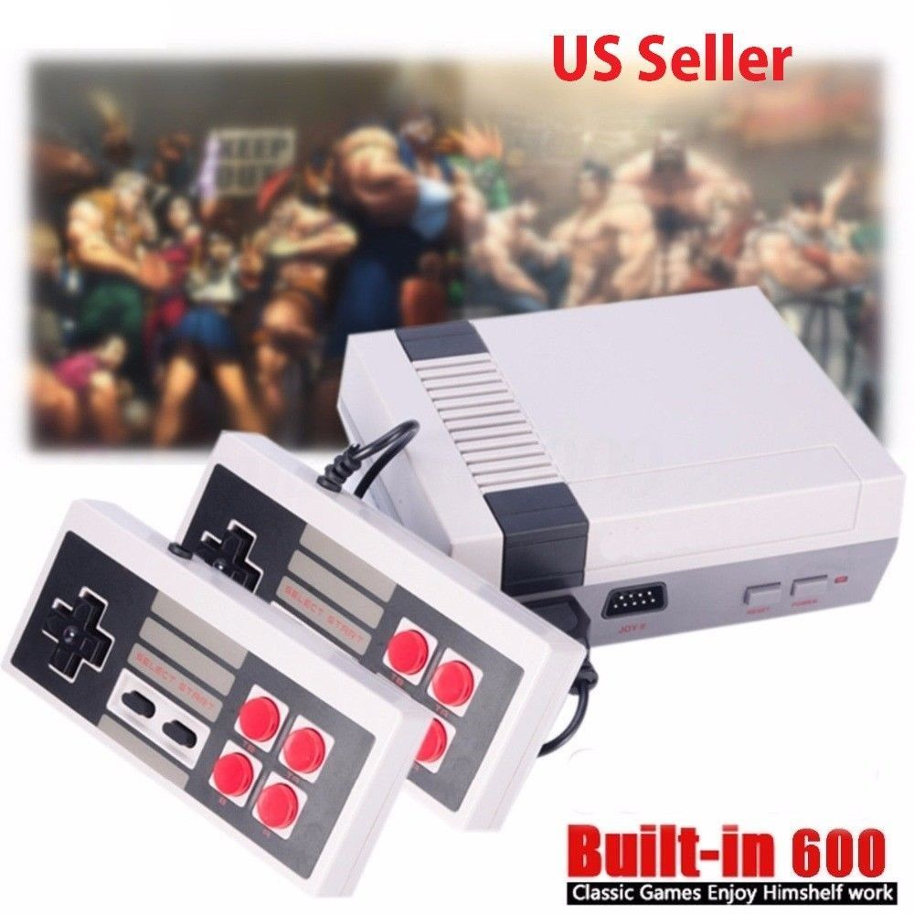 Nes Classic Mini Tv Video Game Console Built In 600 Games With 2