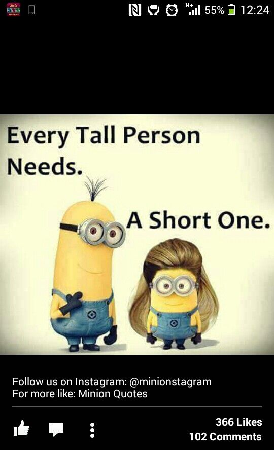 I have many a short one