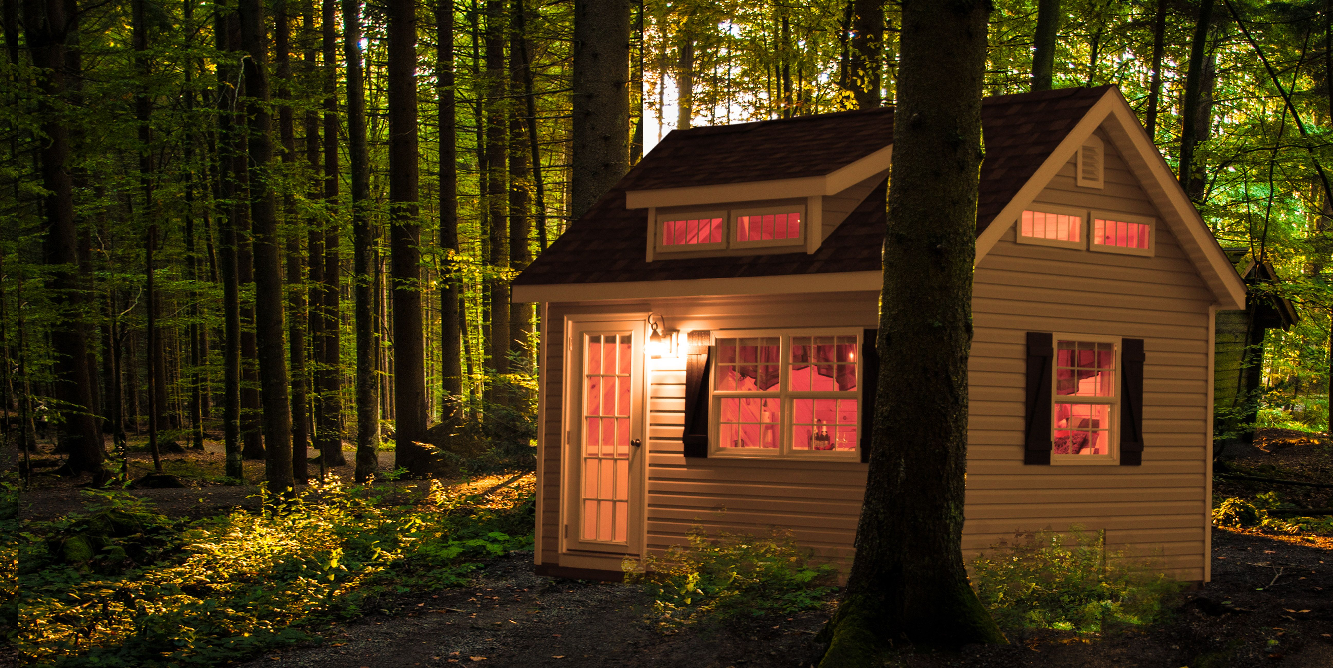 Storage Sheds And Prefab Garages From Pa Guest House Cottage Small Houses For Sale Tiny House Community
