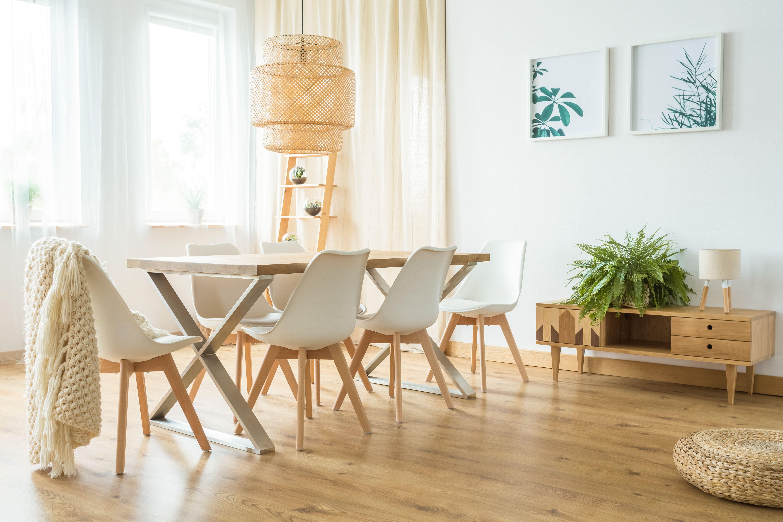 stół Dix dębowy nogi nierdzewne Szyszka Design www.szyszkadesign.pl  zdjęcie: photographee.