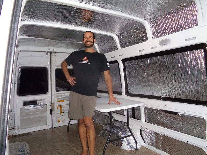 Couple Convert Sprinter Van Into A Tiny House In Just 1