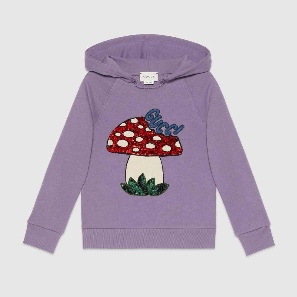 Gucci childrens sweatshirt with gucci mushroom gucci