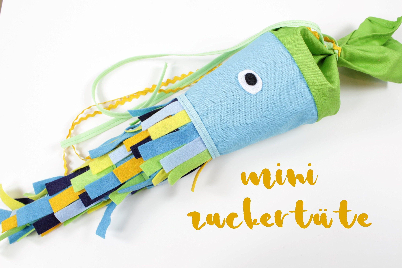 Mini Zuckertute Fisch Mini Schultute Etsy Sunglasses Case Mini Case