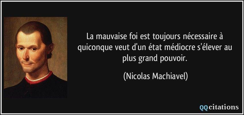 Nicolas Machiavel Quotes Ambition