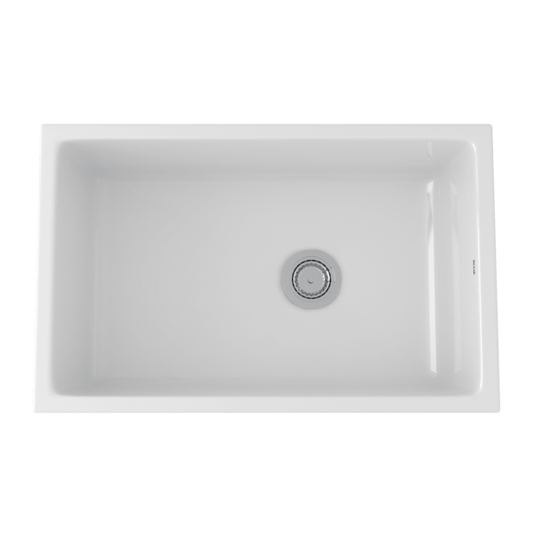 Rohl Kitchen Sinks Allia Fireclay Single Bowl Undermount Kitchen