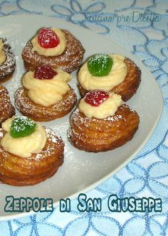 Zeppole di San Giuseppe - ricetta   cucina preDiletta