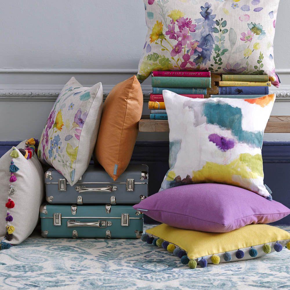 Bluebellgray cushion Mor Bluebellgray, Cushions, Aria rugs