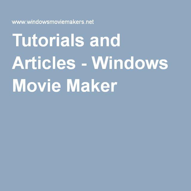 Windows movie maker 2