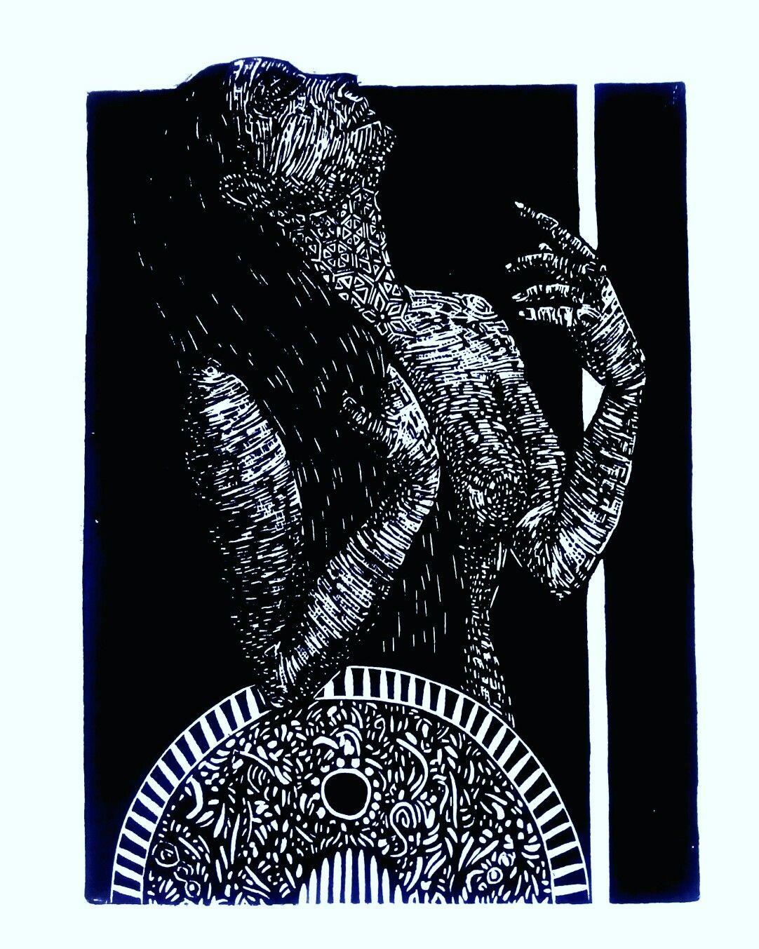 Daana Xilografía 2016