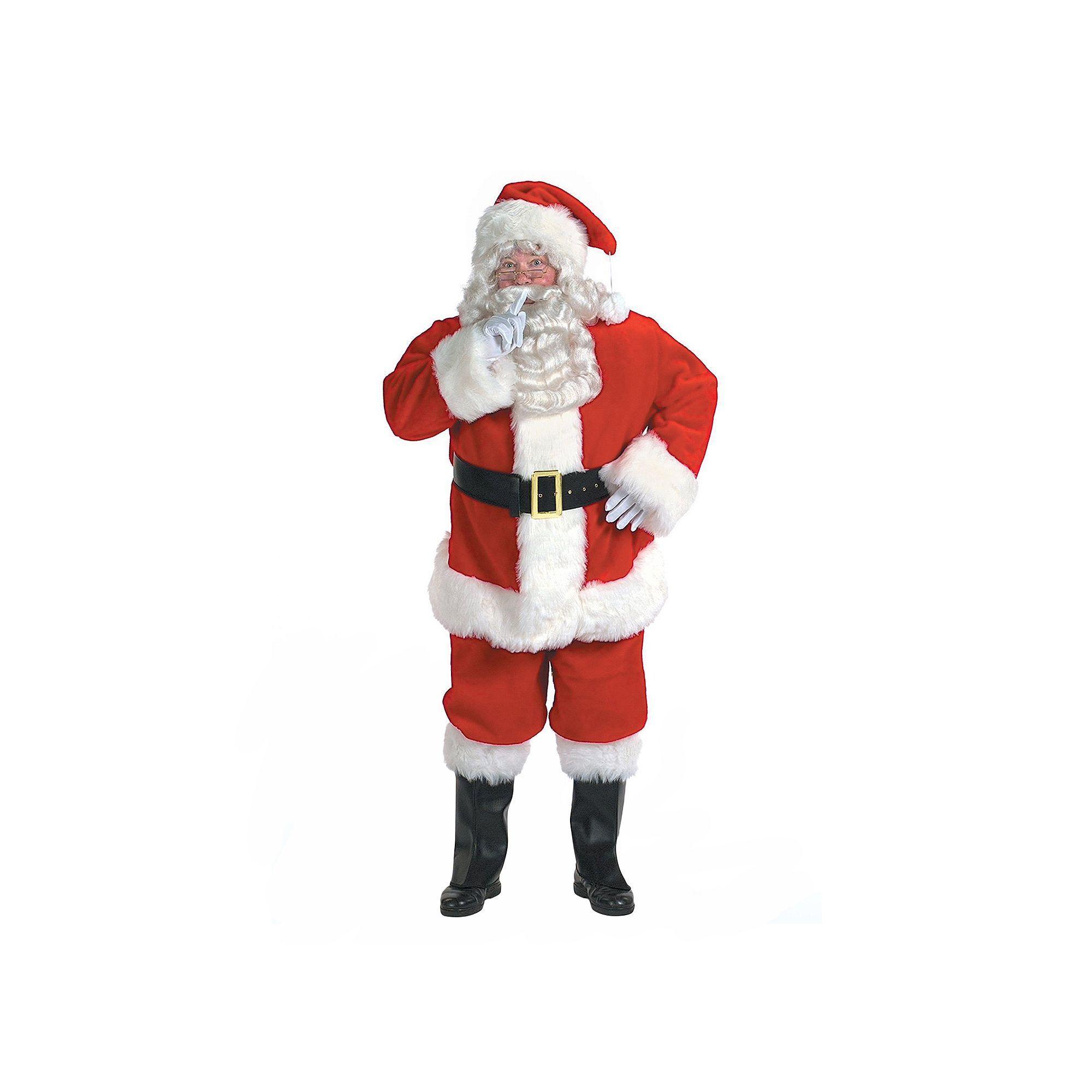 c7117d11c7e5 Adult Plus Size Professional Santa Suit Costume