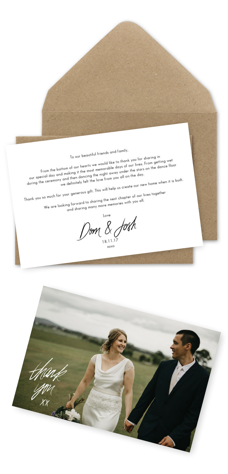 10 Wording Examples For Your Wedding Thank You Cards Thank You Card Wording Wedding Thank You Cards Wording Wedding Thank You Cards