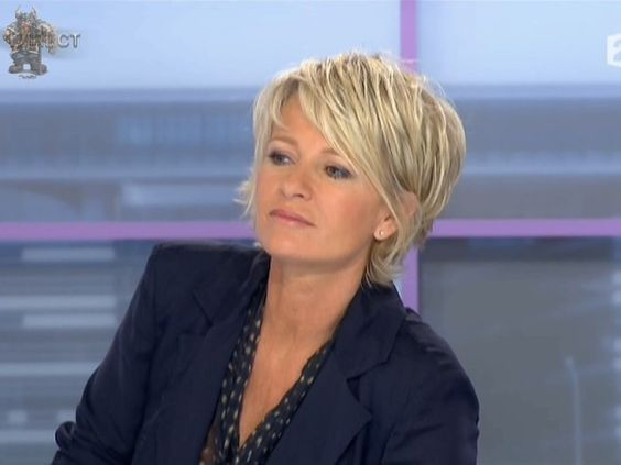Jeudi 09 Juin Sophie Davant Cheveux courts, Coupe de