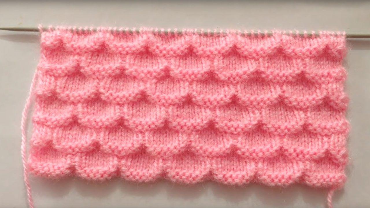 Very Beautiful Knitting Stitch pattern For Sweater ...