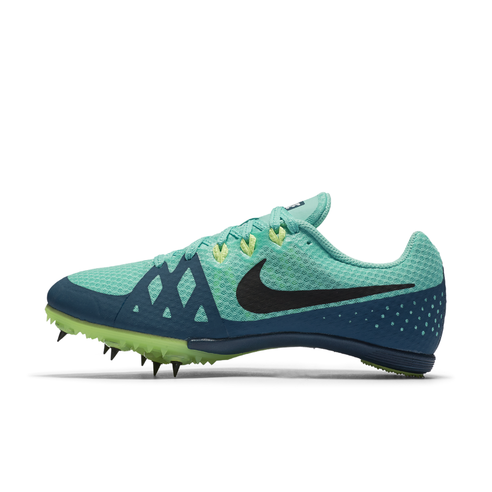 online retailer b79a2 6c936 Nike Zoom Rival M 8 Womens Track Spike Size 7.5 (Blue)