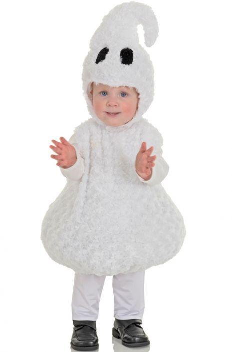 Friendly Ghost Toddler Costume Fiestas - trajes de halloween para bebes