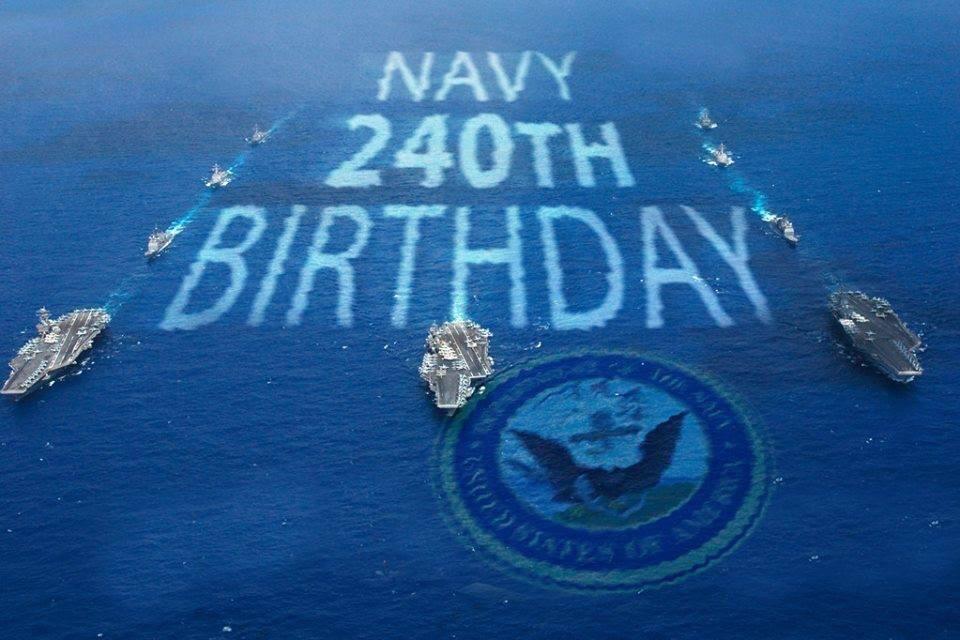Happy 240th Birthday! @USNavy happy #240NavyBDay!