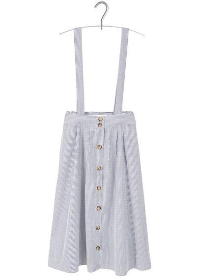 Robe Bleu By Boutonnée Mango En Salopette Habits Coton Val rIxrF7g