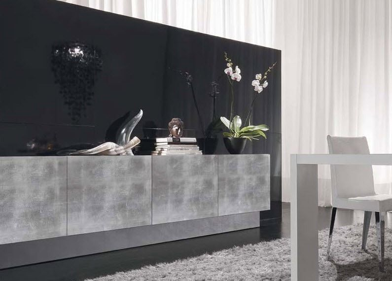 contemporary wooden sideboard STYLE. Presotto Italia