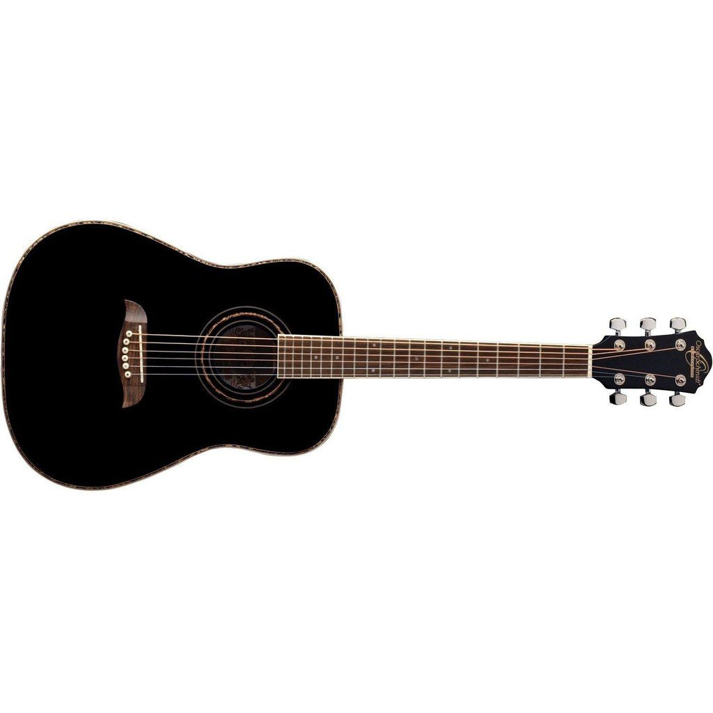 Oscar Schmidt Oghsb 1 2 Acoustic Guitar Black In 2020 Acoustic Guitar Guitar Acoustic