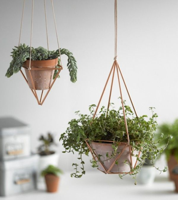 Hanging Copper Planter Rastall And Daughters