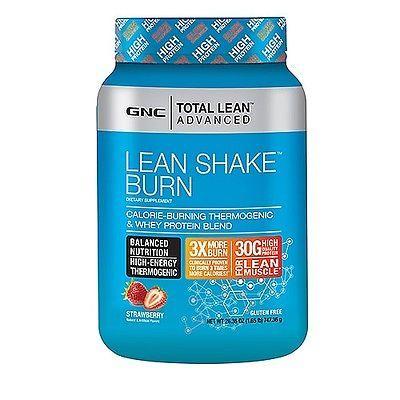 Gnc Total Lean Advanced Lean Shake Burn Thermogenic