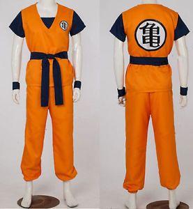 Dragon Ball Z Resurrection/'F/'Son Goku Kakarotto Super Saiyan God Cosplay Costume