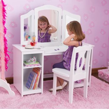 Costco Kidkraft Ella Deluxe Vanity With Chair Shae Xo