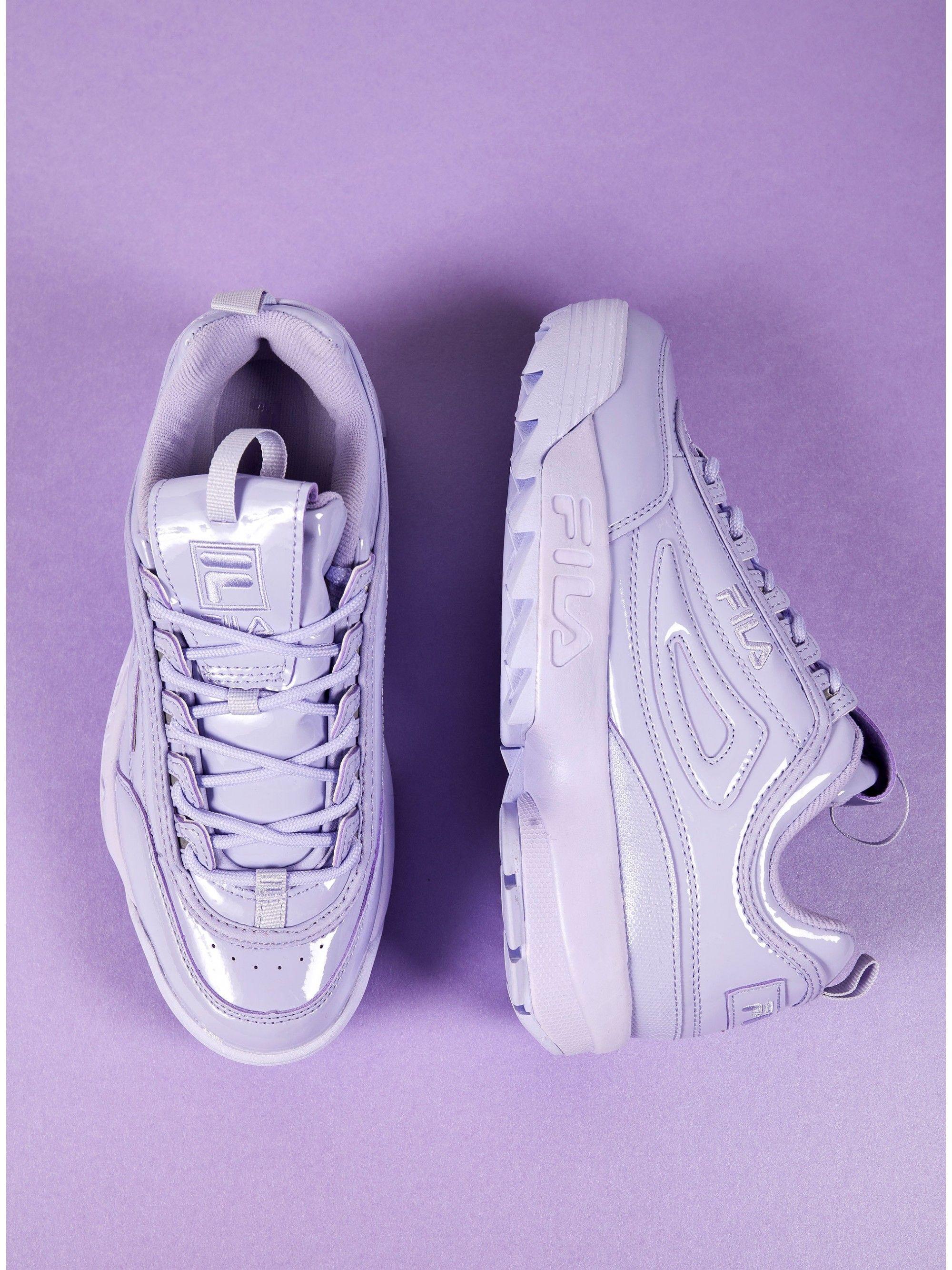 Fila Sneakers Disruptor II Premium Patent Lilac in 2020