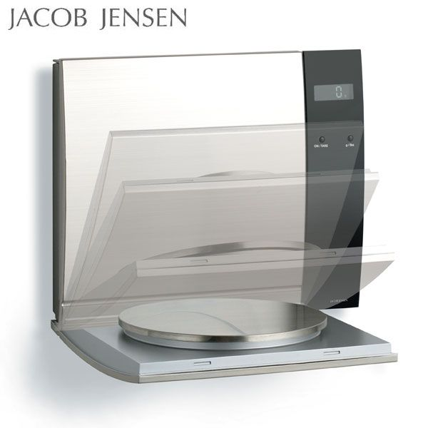 Jacob Jensen Wall Mounted Scales Jacob Jensen Danish