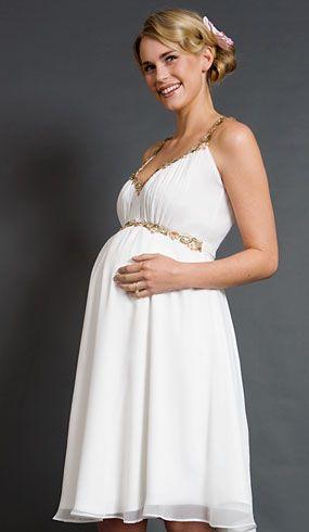 677c43ba204 Los 10 mejores vestidos de novias para embarazadas | Moda y Belleza ...
