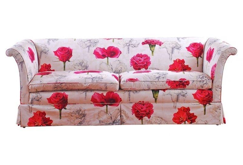 Elegant Flowered Sofas Flowered Sofas 2017 Sofa Design
