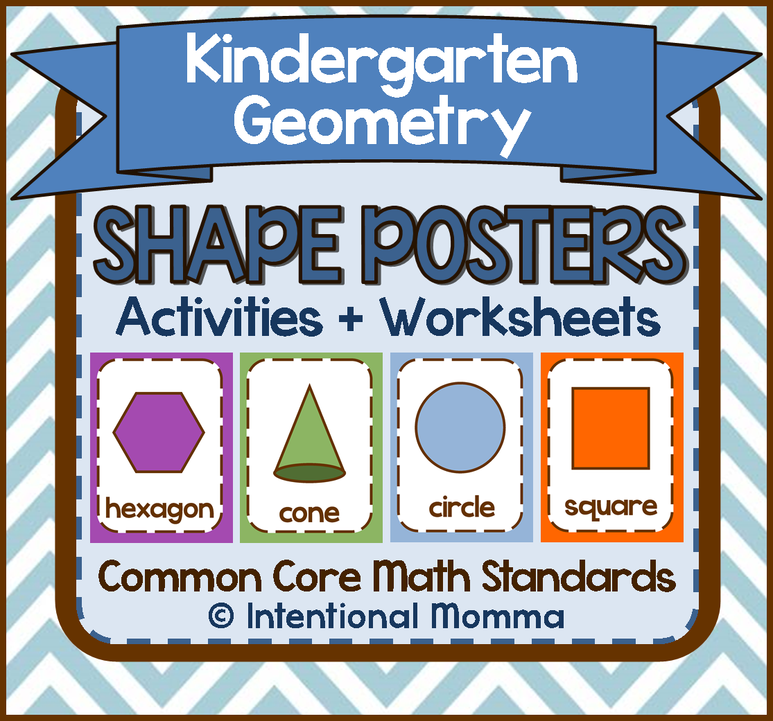 Kindergarten Geometry Shape Activities Worksheets And