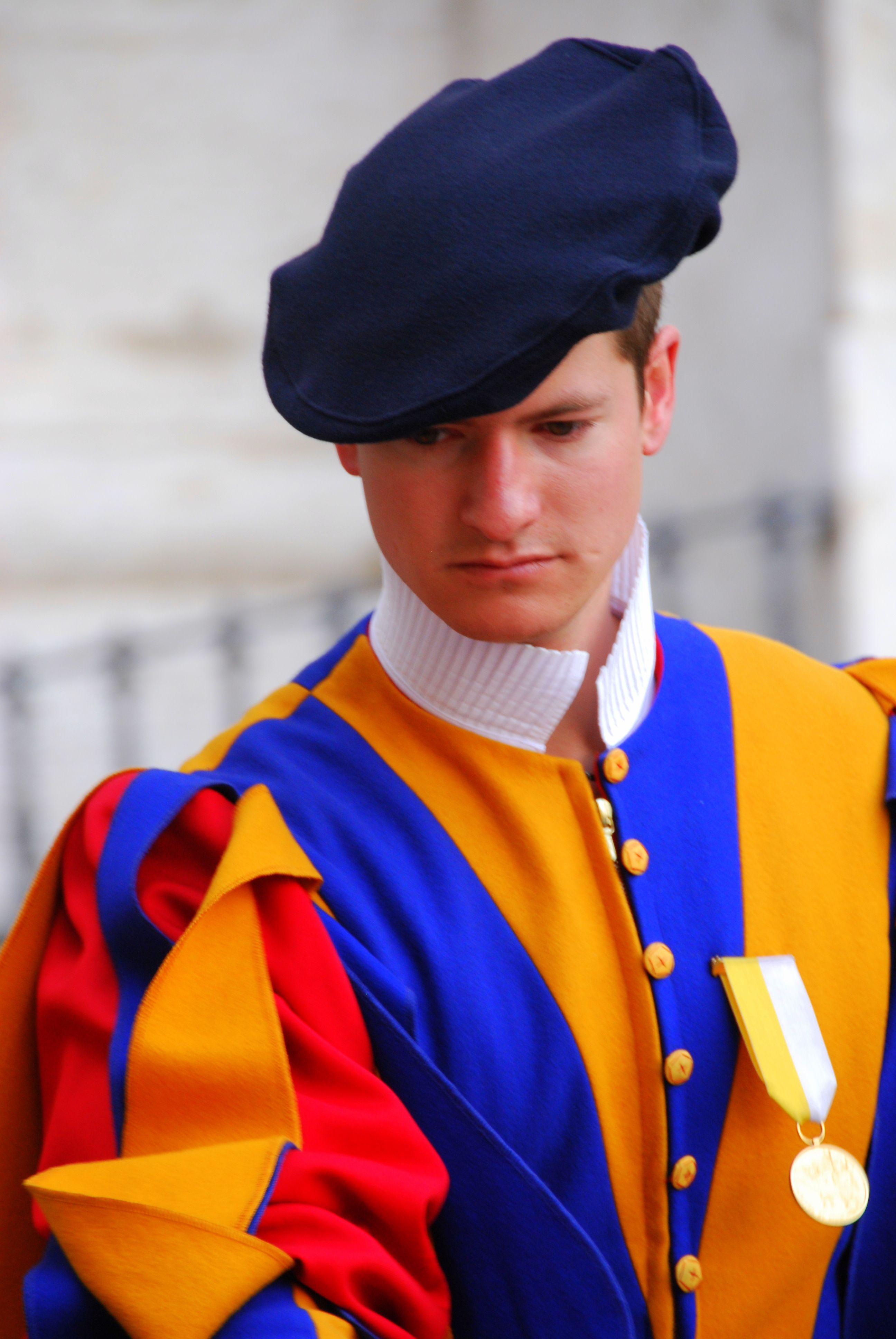Swiss guard @ Vatican