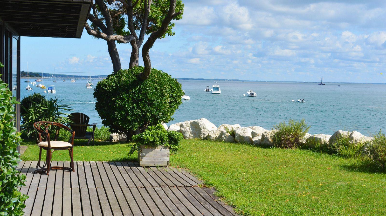 Cap Ferret, Les 44 Hectares, villa en 1ère ligne du Bassin | villa ...