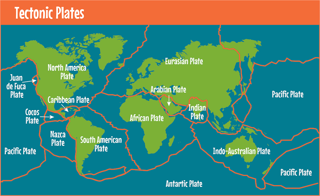 relationship of tectonic plates and faults