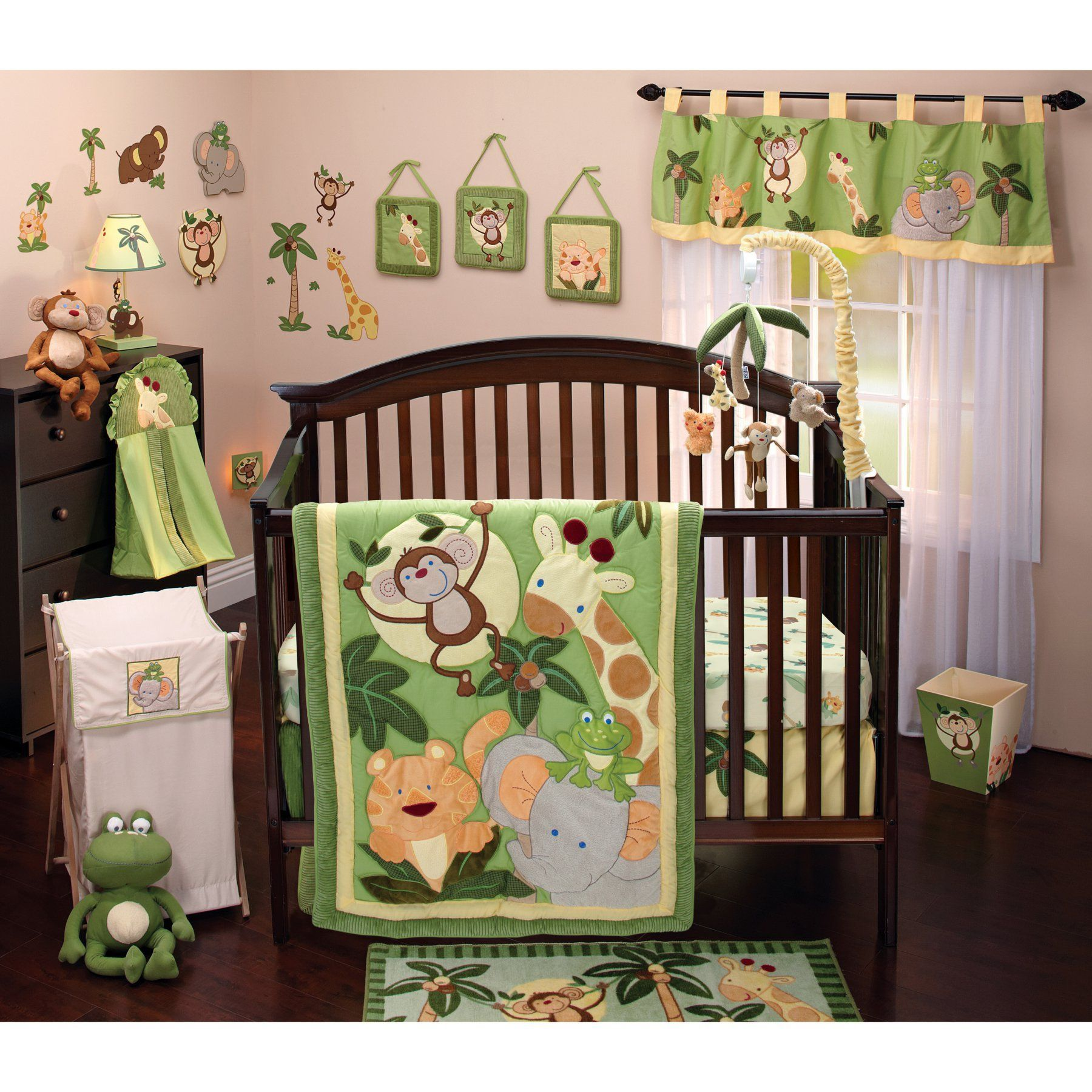 NoJo Jungle Babies 8 pc. Comforter Set - 3544608