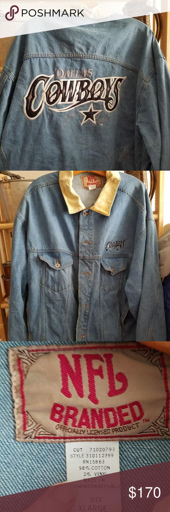 Vintage Dallas Cowboys Jean Jacket Jackets Blue Jean Jacket Jean Jacket [ 1740 x 580 Pixel ]