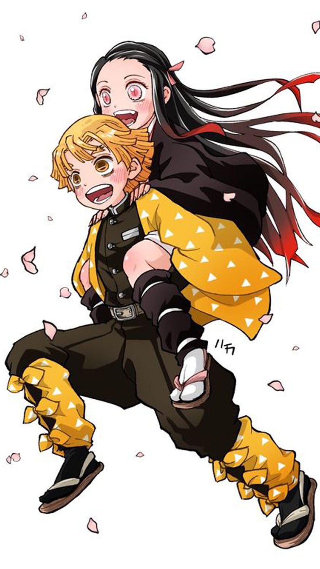Agatsuma Zenitsu Demon Slayer Wallpaper Anime demon
