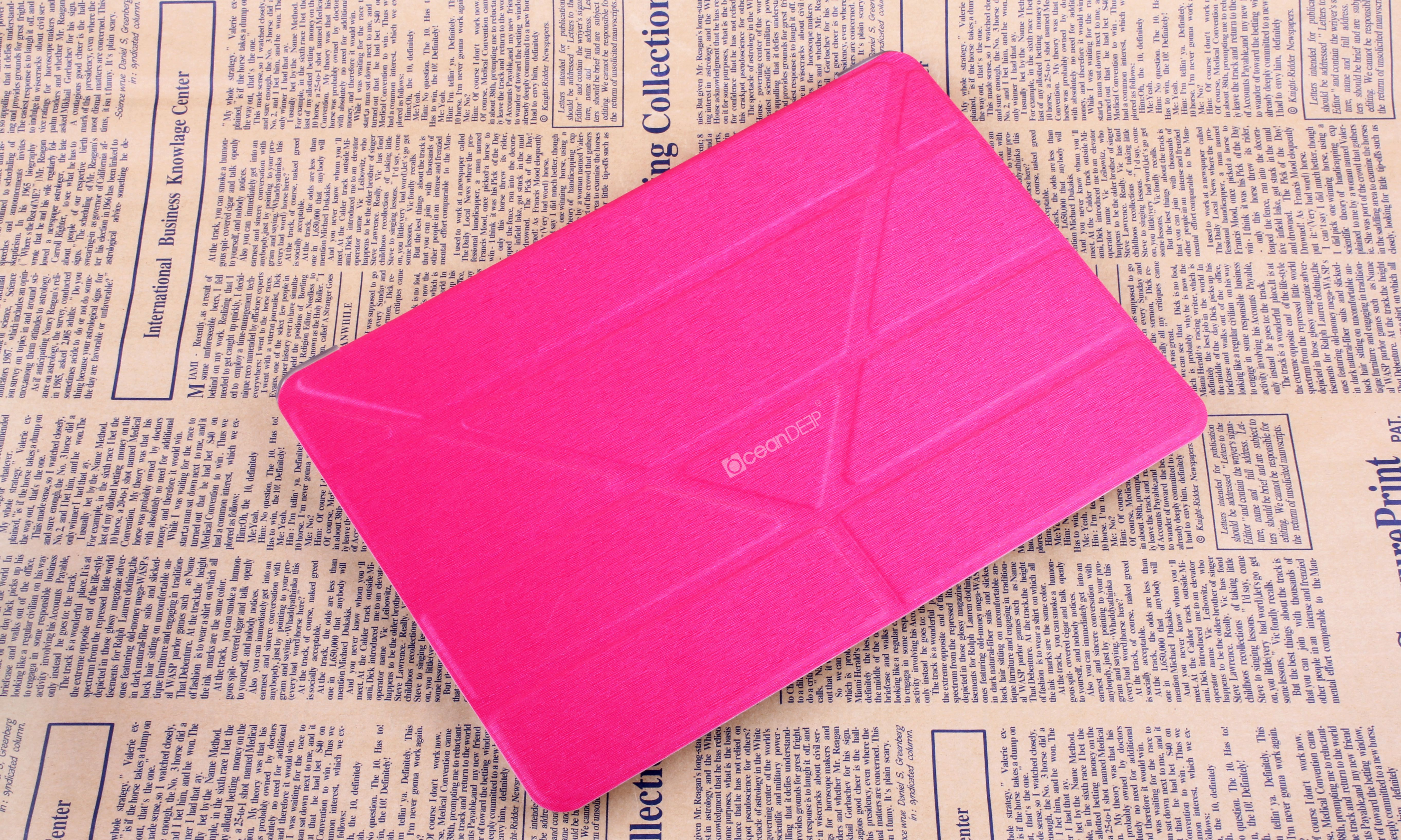 tablet flip case, special leather flip case smart cover for ipad air, oceandeep,guangzhou, ipad air case