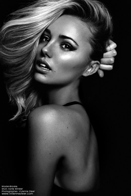 Hogan australia brooke hoganbrooke orsayfemale facesbeauty shots contouringblack and white photographybettaflawsportrait
