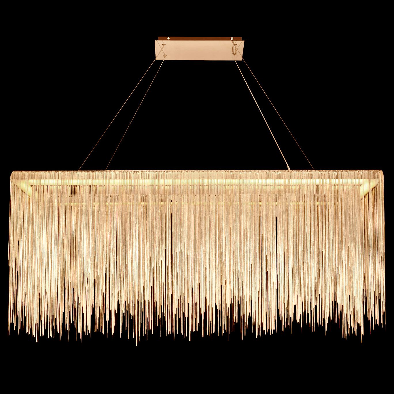 Fountain Ave Rectangle Pendant By Avenue Lighting Hf1201 G Rectangle Chandelier Fountain Ceiling Installation