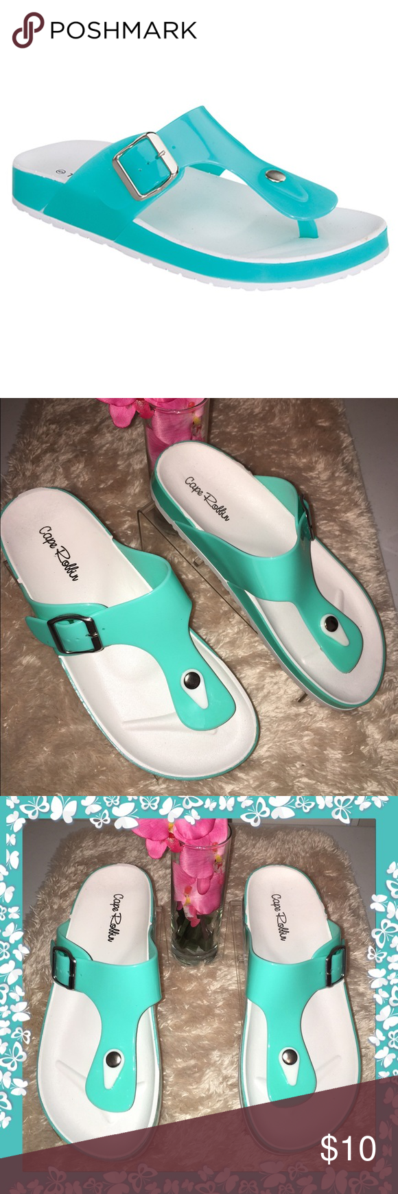 MINT JELLY SANDALS Beautiful color mint jelly sandal Shoes Sandals